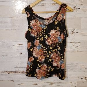 Time & Tru adorable floral tank